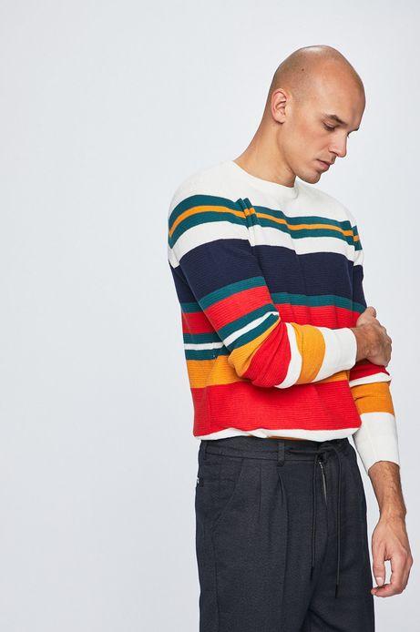 Sweter męski w paski