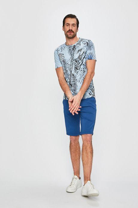 Szorty męskie regular niebieskie