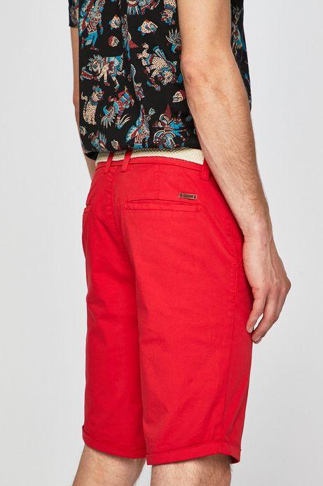 Szorty męskie regular czerwone