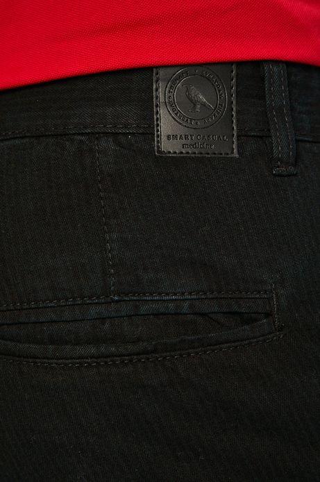 Szorty jeansowe męskie czarne