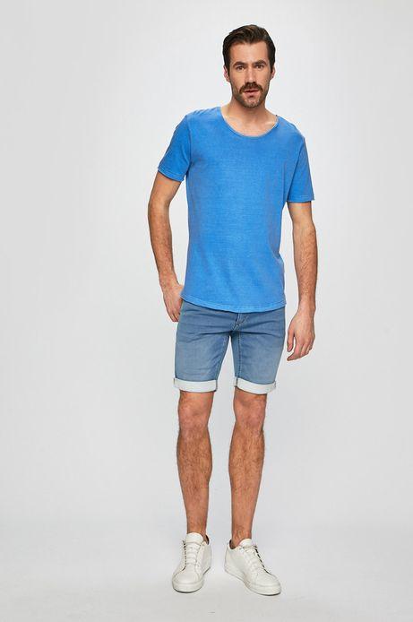 Szorty męskie jeansowe niebieskie