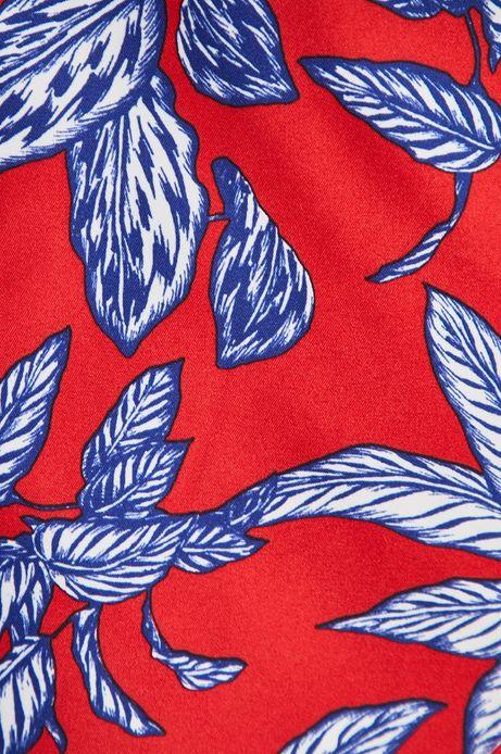 Szorty kąpielowe męskie czerwone