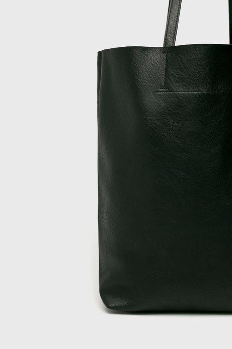 Torebka damska ze skóry ekologicznej czarna