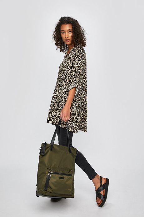 Torebka damska z opcją noszenia jako plecak zielona