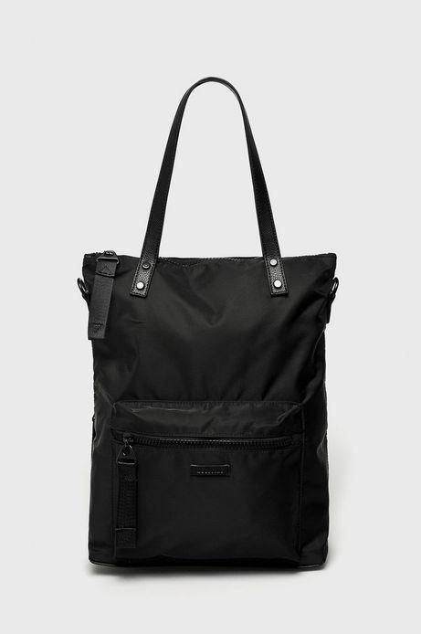 Torebka damska z opcją noszenia jako plecak czarna