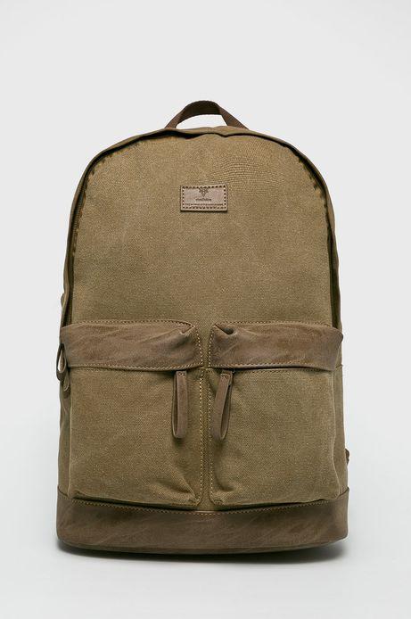 Plecak męski jednokomorowy brązowy