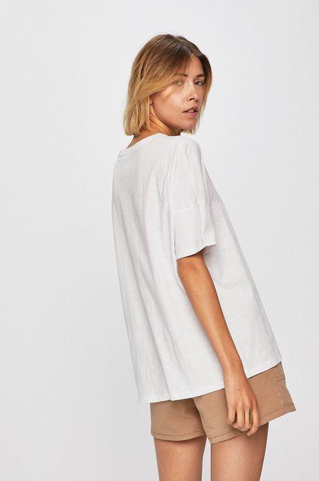 Top damski oversize biały