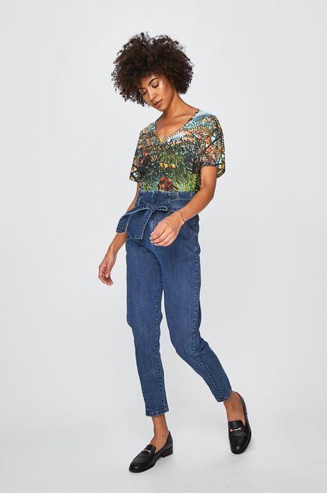 T-shirt damski z kolekcji Eviva L'arte wzorzysty