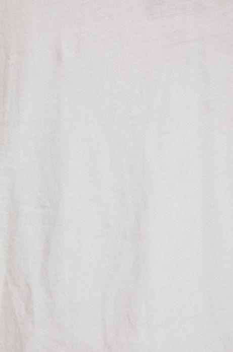 Top damski z koronkową wstawką na plecach biały