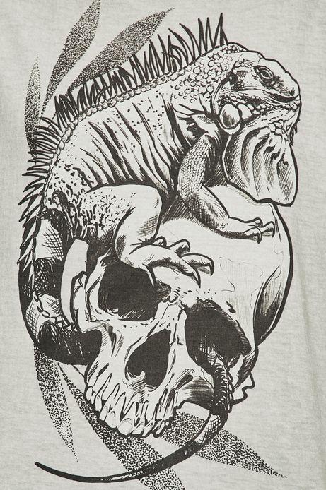 Top damski by Hipner, Tattoo Konwent szary