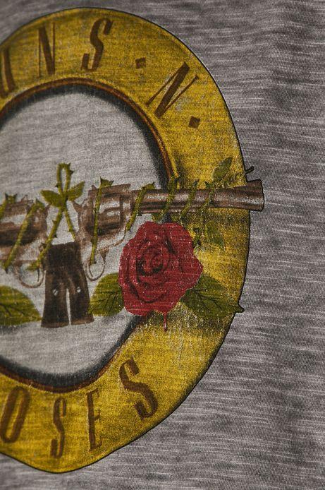 Top damski Guns'n'roses szary