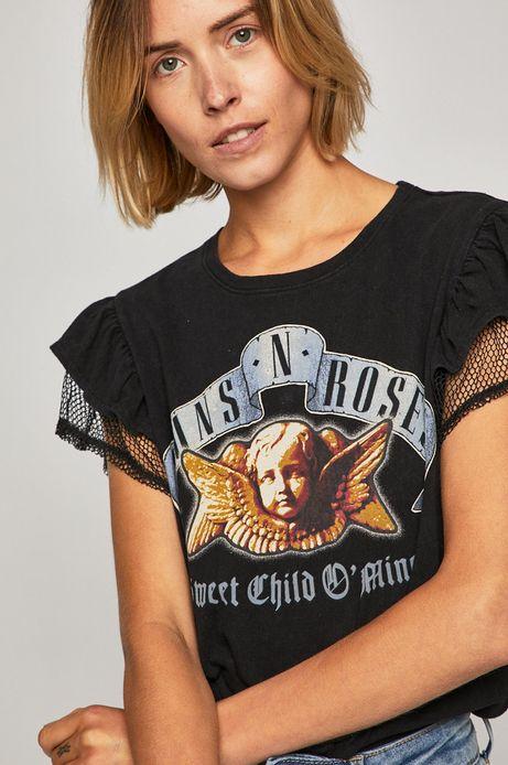 Top damski Guns'n'roses czarny
