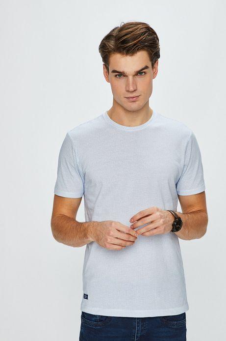 T-shirt męski Basic biały