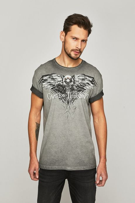 T-shirt męski Game of Thrones szary