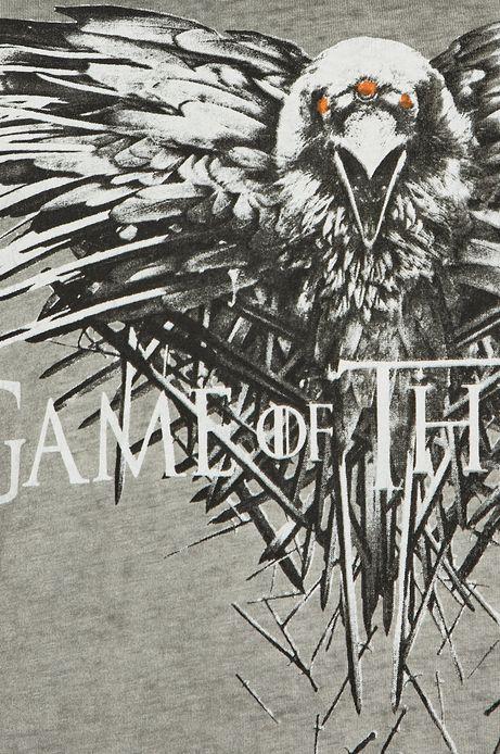 T-shirt męski Game of Thrones szary