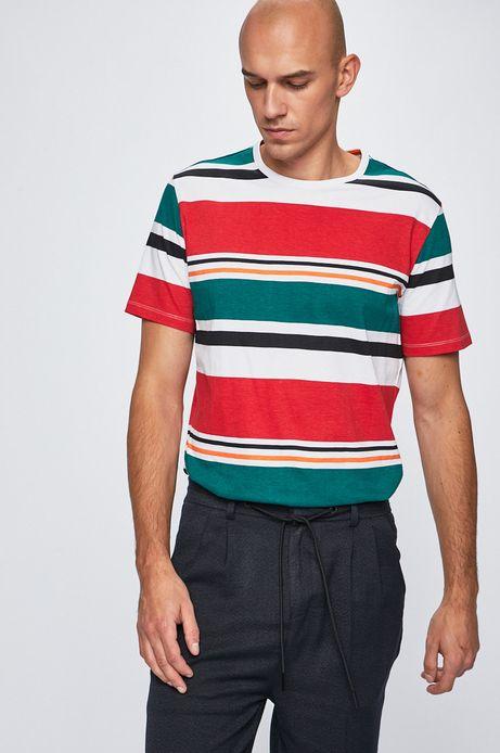 T-shirt męski w paski