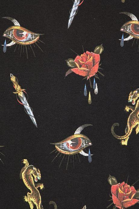 T-shirt męski czarny by Michalina Bolach, Falka Art