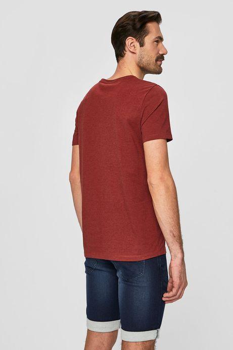 T-shirt męski by Justyna Frąckiewicz czerwony