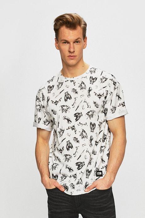T-shirt męski by Maja Owczarek, Tattoo Konwent biały