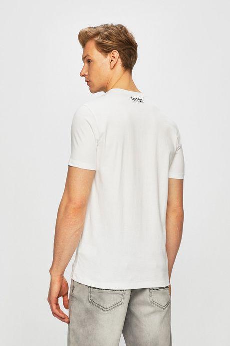 T-shirt męski by Piotr Bemben, Tattoo Konwent biały