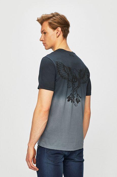 T-shirt męski by Piotr Bemben, Tattoo Konwent szary