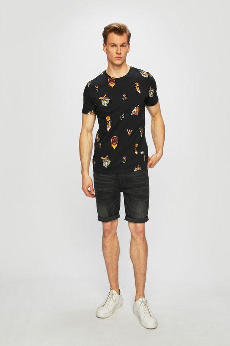 T-shirt męski by Jarek Ropa Tattoo Konwent czarny