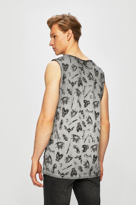 T-shirt męski by Maja Owczarek, Tattoo Konwent szary
