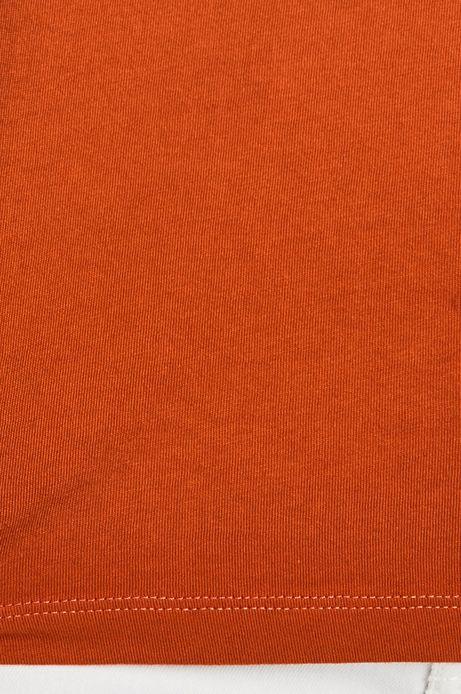 T-shirt męski cieniowany pomarańczowy