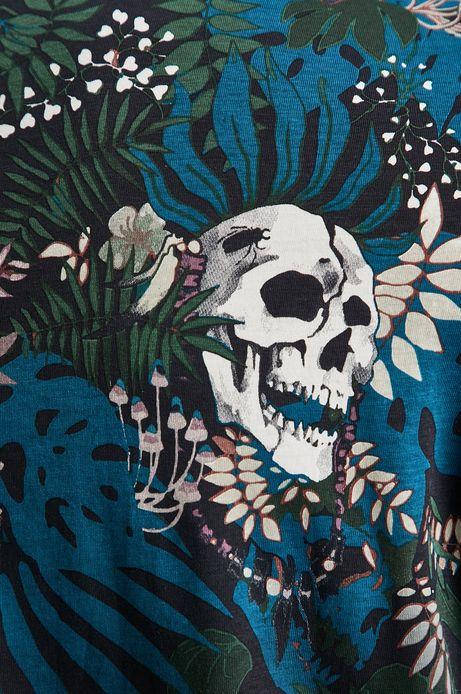 T-shirt męski  by Leia Othake, Grafika Polska zielony