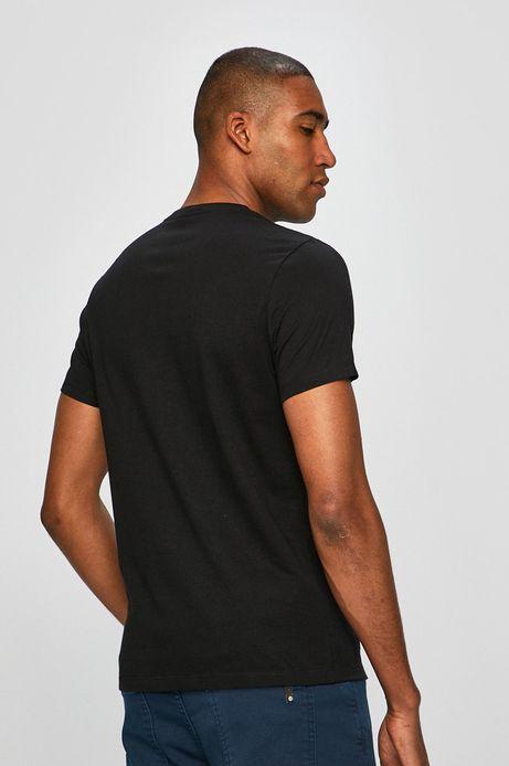 T-shirt męski by Plakiat. Maks Bereski, Grafika Polska czarny