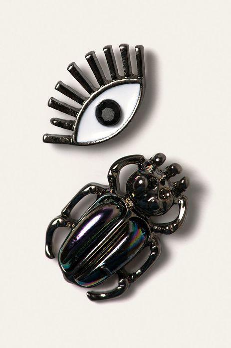 Kolczyki damskie (3-pack) czarne