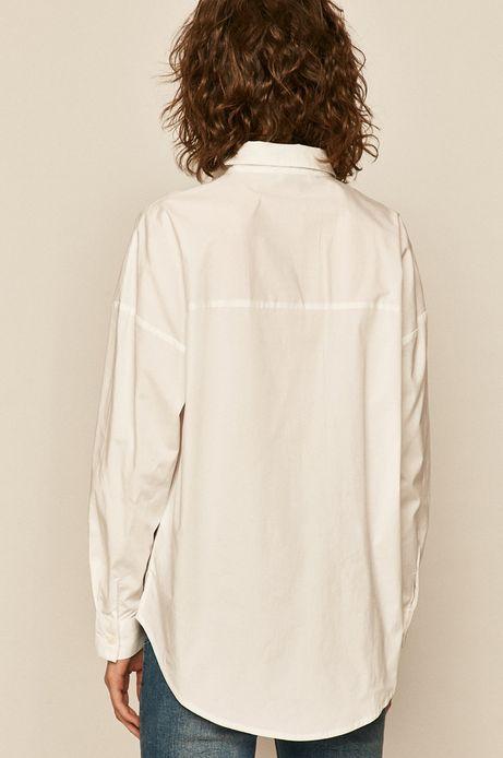 Bluzka damska z bawełny organicznej biała