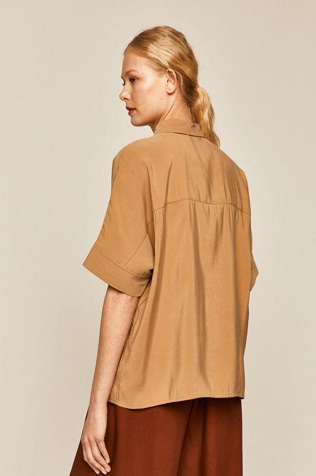 Bluzka damska beżowa