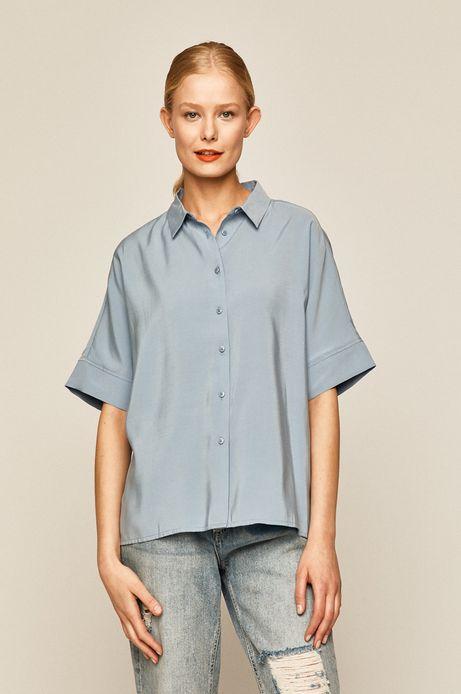 Bluzka damska niebieska