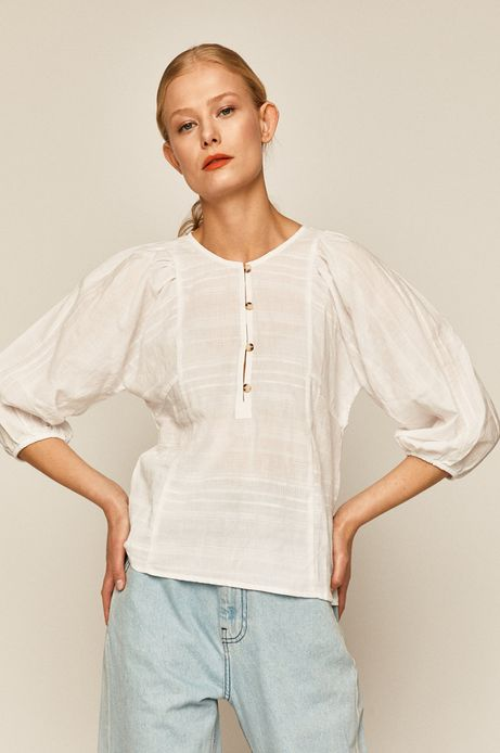 Bluzka damska Boho Breeze biała
