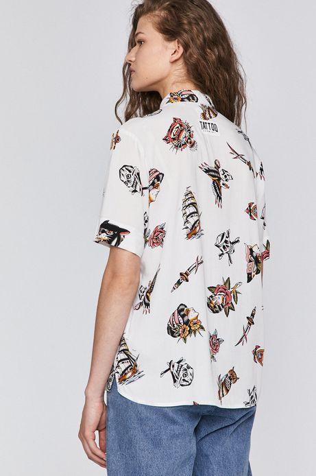 Koszula damska by Gruby Kruk, Tattoo Konwent biała