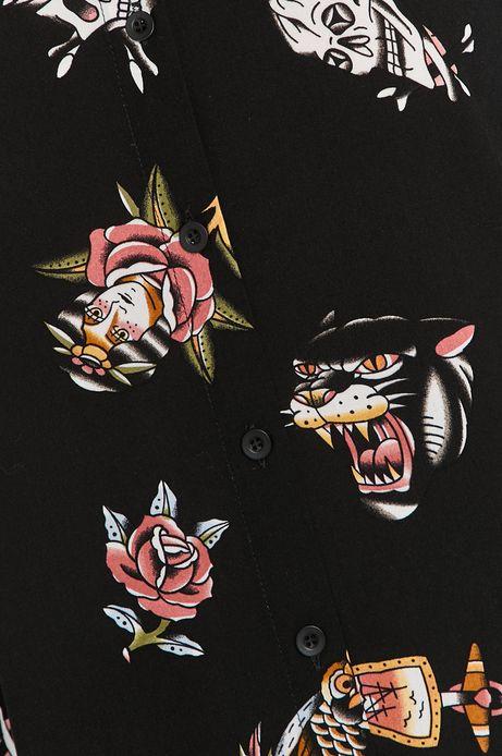 Koszula damska by Gruby Kruk, Tattoo Konwent czarna
