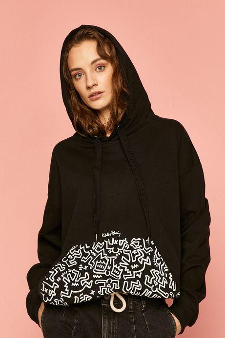 Bluza damska by Keith Haring czarna