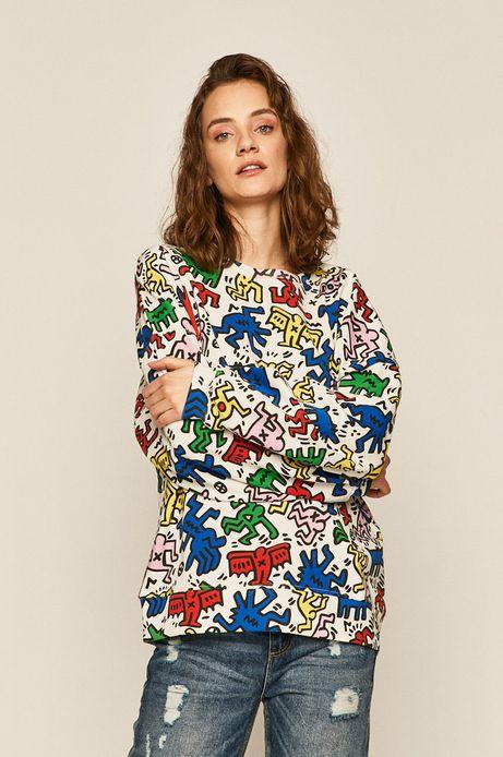 Bluza damska by Keith Haring biała