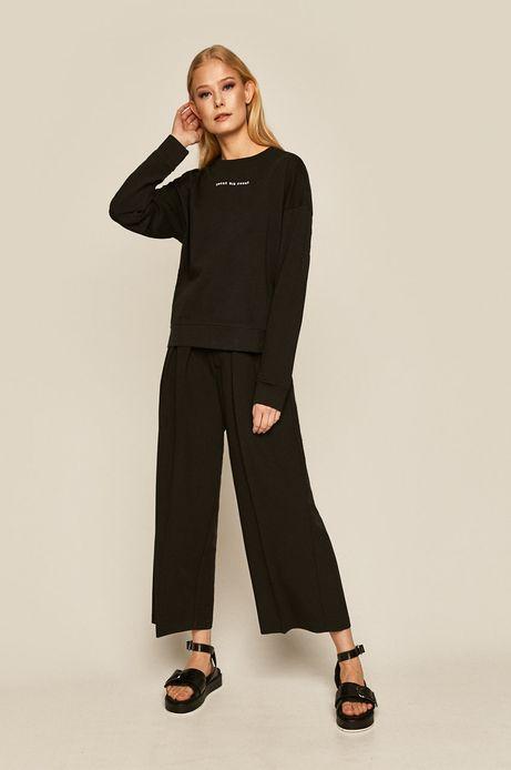 Bluza damska z nadrukiem czarna