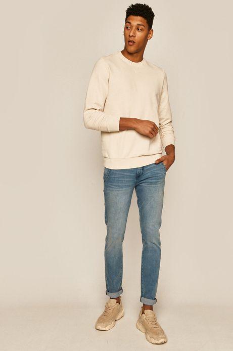 Bluza męska kremowa