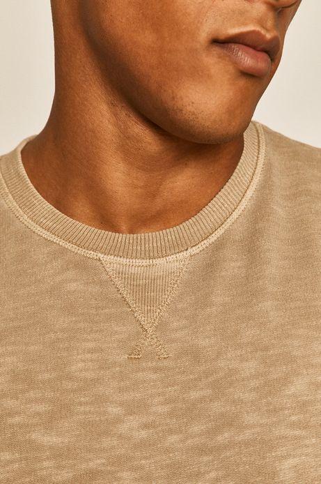Bluza męska beżowa