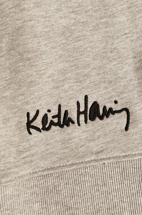 Bluza męska by Keith Haring szara