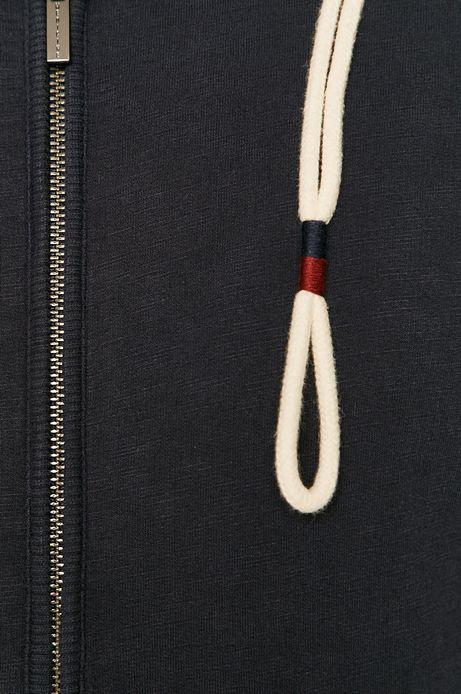 Bluza męska z kapturem granatowa