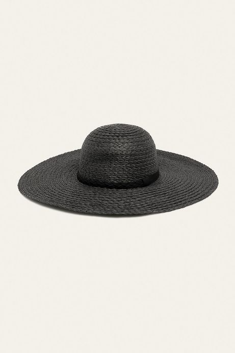 Kapelusz damski handmade z szerokim rondem czarny