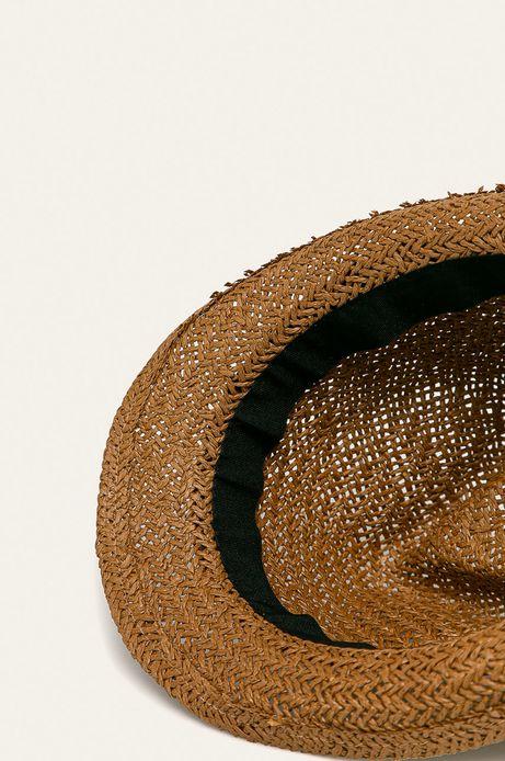 Kapelusz męski handmade brązowy