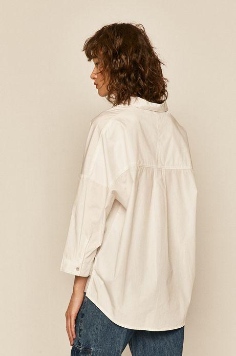 Koszula damska z bawełny organicznej biała