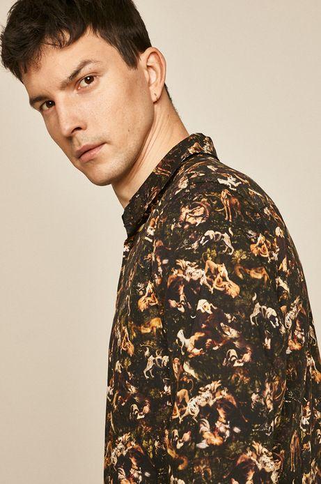 Koszula męska Eviva L'arte wzorzysta