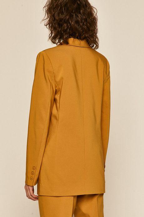 Żakiet damski żółty