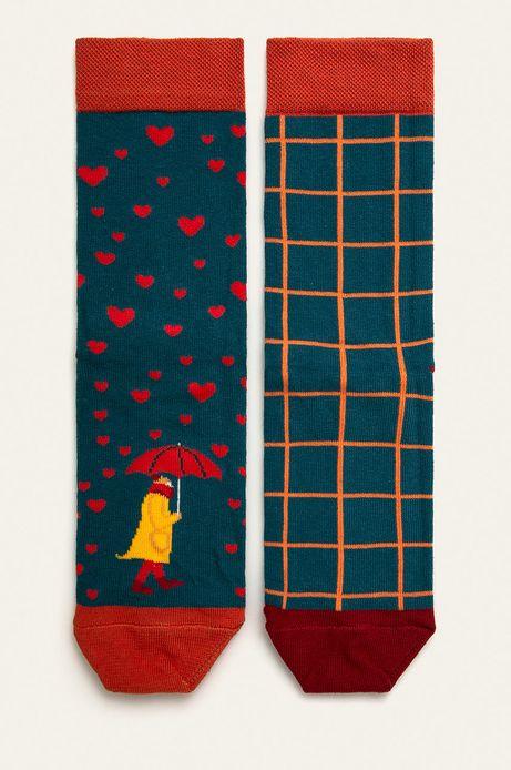 Skarpetki damskie wzorzyste Valentine's (2 pack)